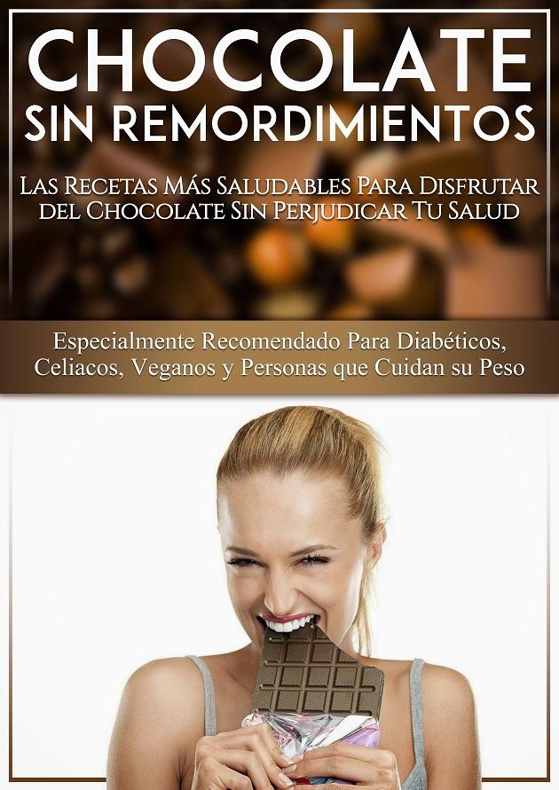 recetas de chocolate para diabeticos, veganos y celiacos